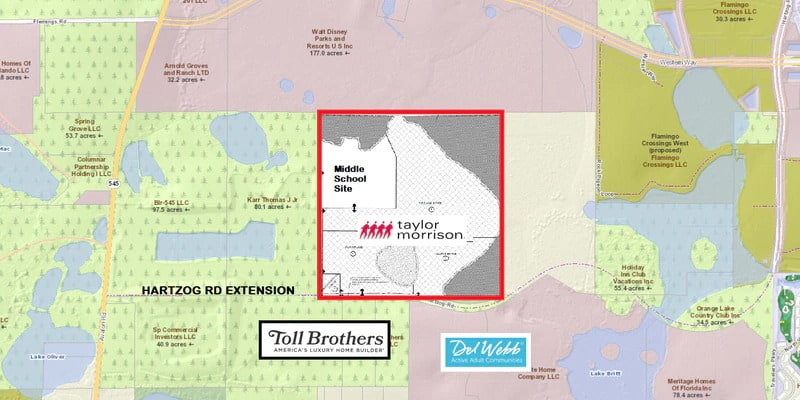 Horizon West: Taylor Morrison Expands Presence with an $18.8 Million Purchase